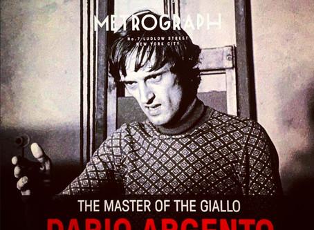 Dario Argento gets a retrospective at Metrograph NYC