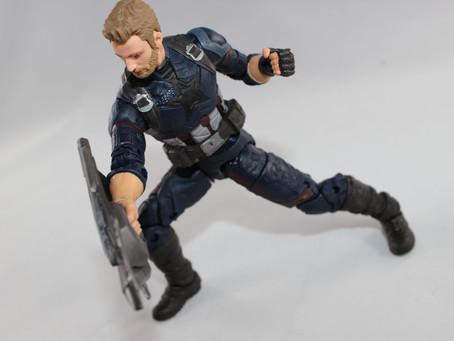 Marvel Legends Thanos BAF: Steve Rogers (Infinity War)