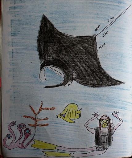 Croquis voyage dessin carnet de voyage papouasie