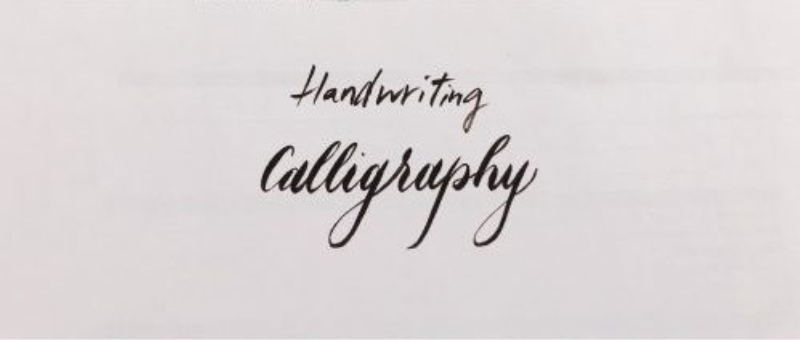 handwriting and calligraphy written on paper