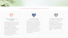 Website design for a life/health coach in New Jersey