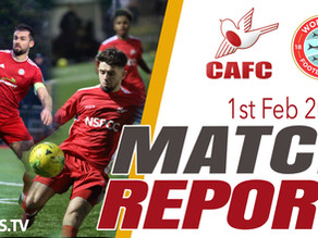 Match Report - Worthing