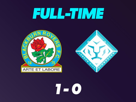 Single Penalty Brings Defeat For Lionesses Again: Blackburn Rover 1:0 London City Lionesses