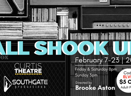 'All Shook Up' at Curtis Theatre