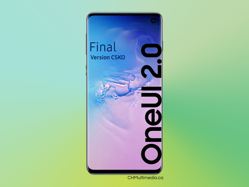 OneUI 2: Version finale S10/Final S10 Version