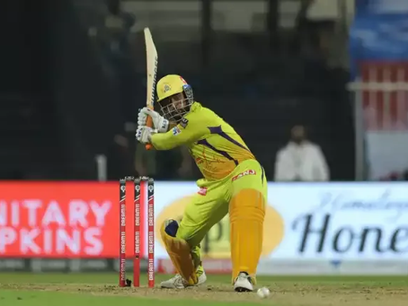 Why did Dhoni skittle himself down the order?