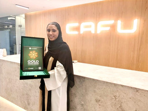 CAFU honoured with 'Gold Innovation in Sustainable Technologies' award