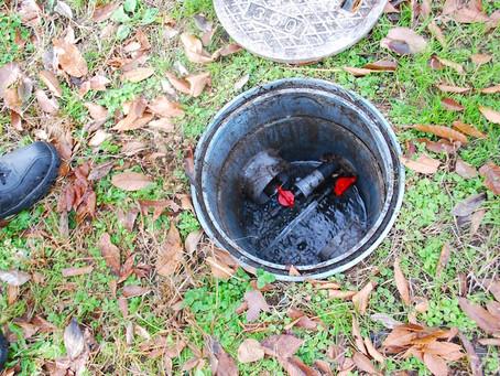 春までは給水システムを停止します。