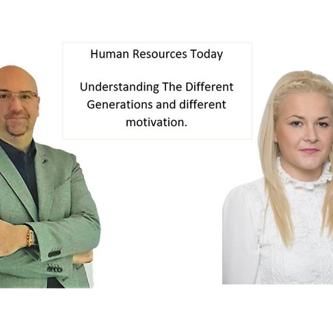 Human Resources Today: Understanding The Different Generations and Different Motivation.