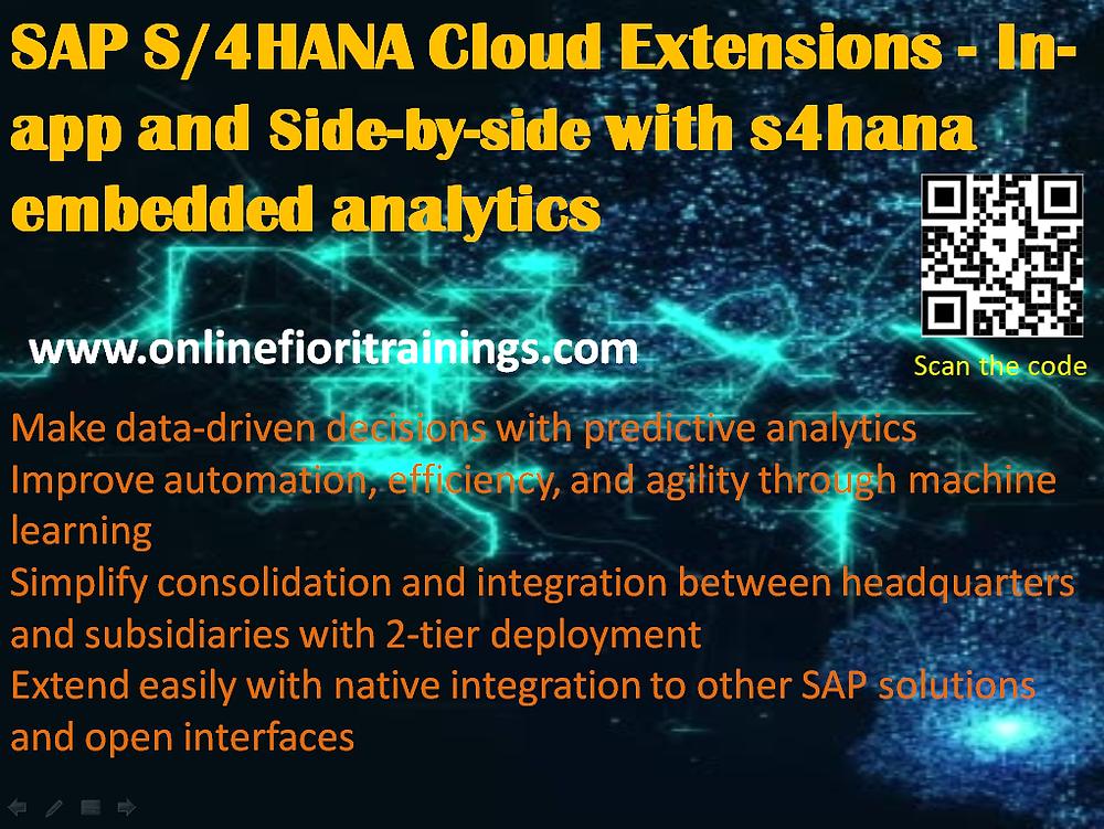 SAP S/4 HANA Training