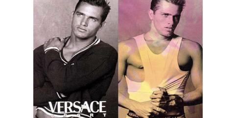 Kelly Slater and Versace
