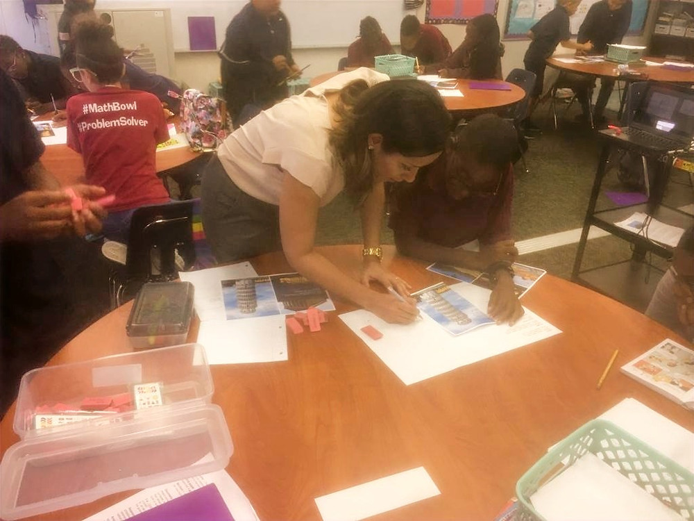 Tampa Architect volunteering at the AIE Program in Tampa Bay