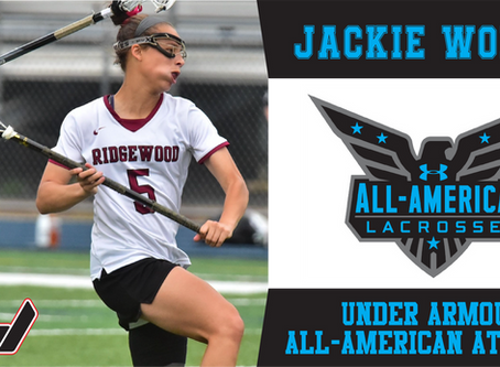 UNDER ARMOUR ANNOUNCES BBL'S JACKIE WOLAK AS AN ALL-AMERICAN ATHLETE SELECTION