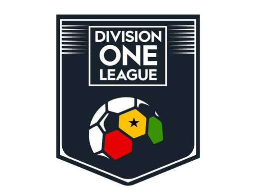 MATCH OFFICIALS FOR 2019/20 DIVISION ONE LEAGUE MATCHDAY 4