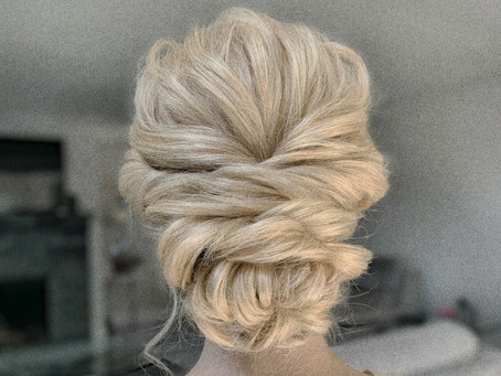 What do you need to do before having your updo done?
