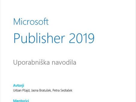 Brezplačni priročnik: Microsoft Publisher 2019