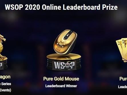 Золотые награды для победителей WSOP 2020