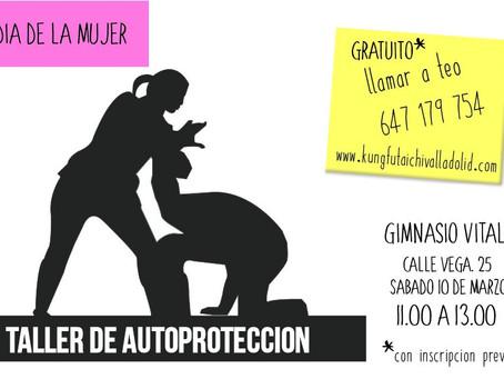 Día de la Mujer: Taller Autoprotección