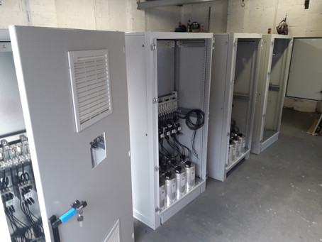 PQIS Power factor correction unit manufacture