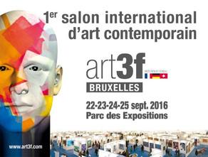 Annie Lebaillif expose au Salon Art 3F à Bruxelles . du 22 au 25 Septembre 2016