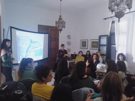 CURSO MONITOREO DE CETÁCEOS DESDE FERRIS - 31 ENERO 2020