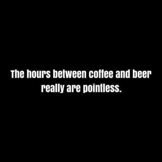 Coffee & Beer Meme