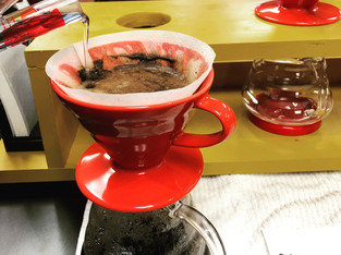 I Manually Brew My Coffee at Home