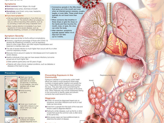 What illnesses does COVID-19 cause?