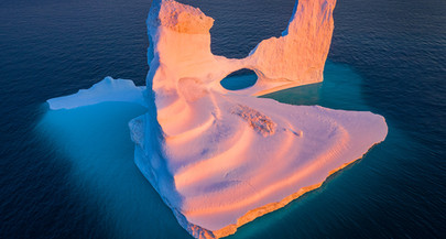 Photographing Greenland Icebergs