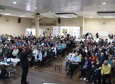 Evento homenageia os idosos do município