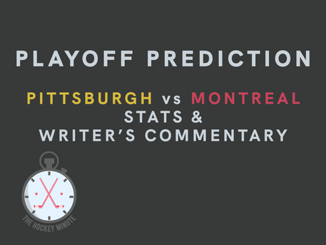 Pittsburgh Penguins vs Montreal Canadiens - stats & writer's commentary