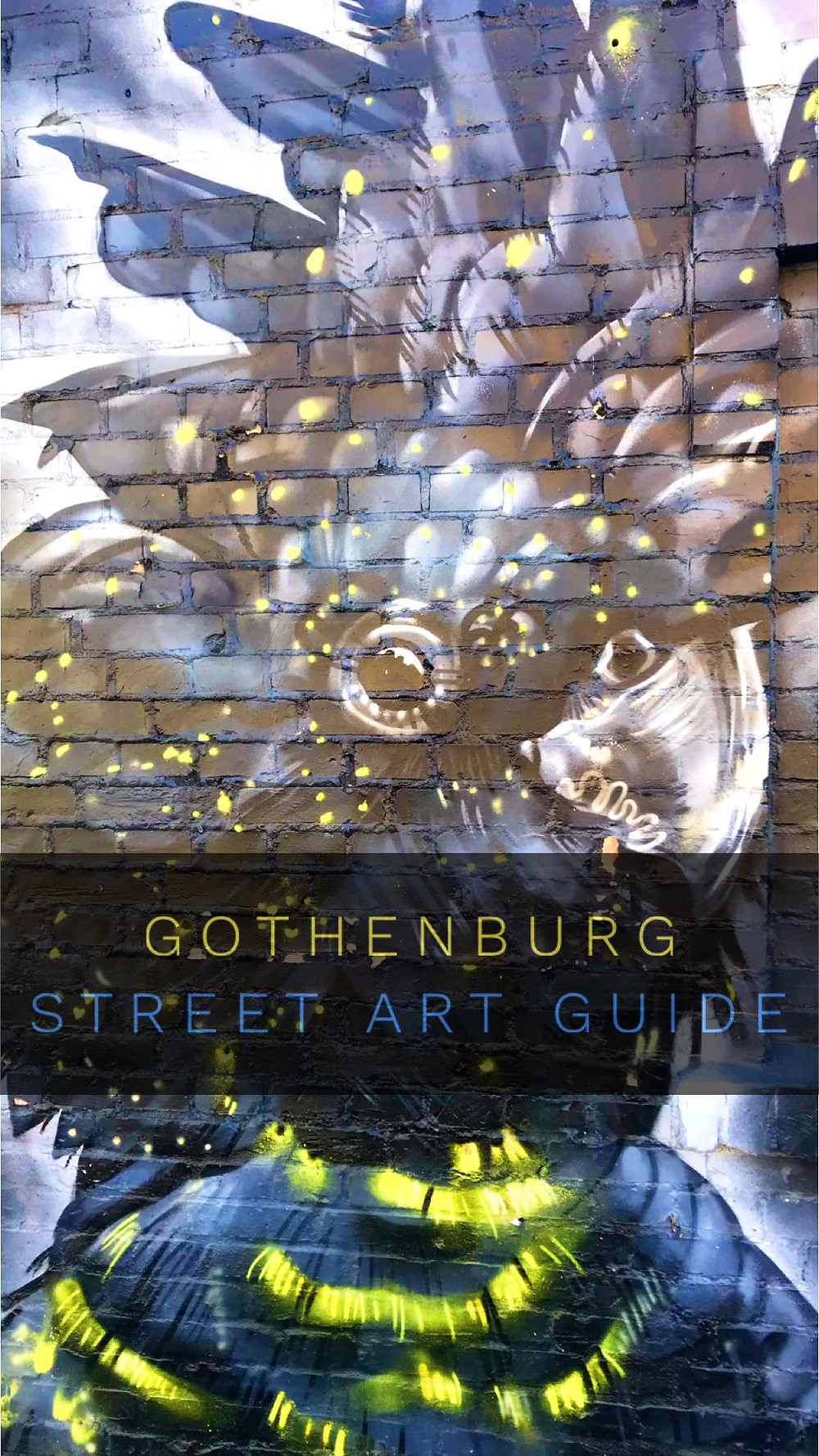 Gothenburg Street Art Guide on Sticks & Spoons Food and Travel! Follow us on Street Art Cities to find great Street Art in Gothenburg, Sweden!