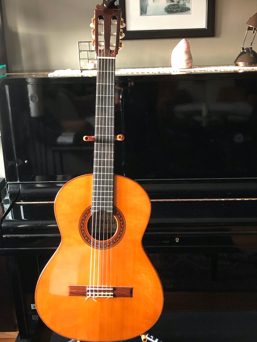 Martina's classical guitar