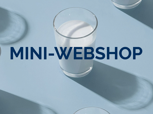 MINI-WEBSHOP IN WIX...  easy as (buying) milk!