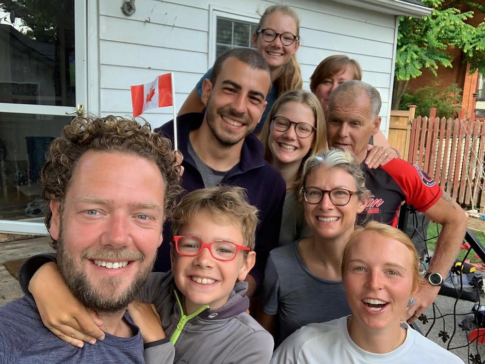 Tour du monde à vélo en famille 2018 2019 :  Canada
