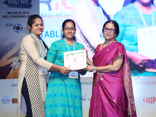 Thank you IKP for honouring us!