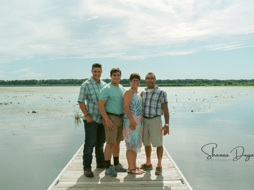 Barlow Family Session on Color Film