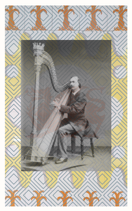 Picture of the harpist John Thomas