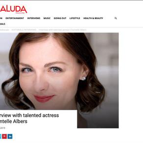 Naluda Magazine: Actress Chantelle Albers