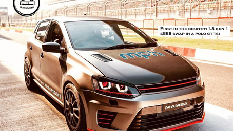 Modified Volkswagen Polo With Some Insane Upgrades