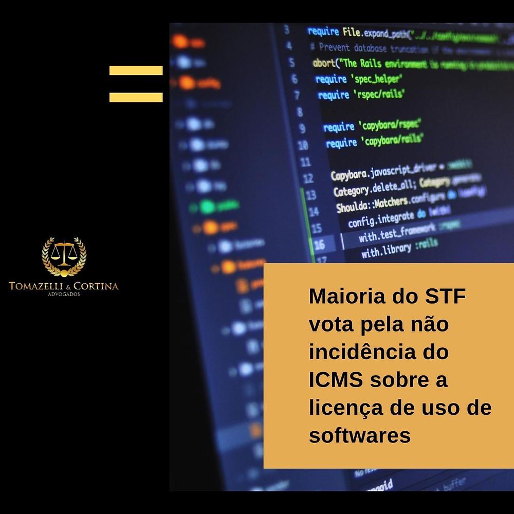 ICMS Licença Software STF