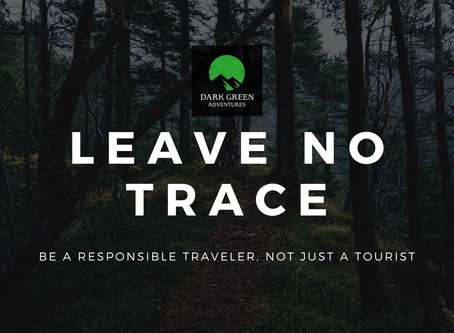 """Leave No Trace"" Policy"