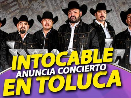 INTOCABLE anuncia concierto en Agosto en Toluca EDOMEX.