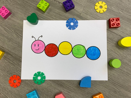 Caterpillar Matching Game