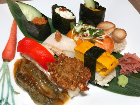 Crazy Vegan Sushi Course at M's Table