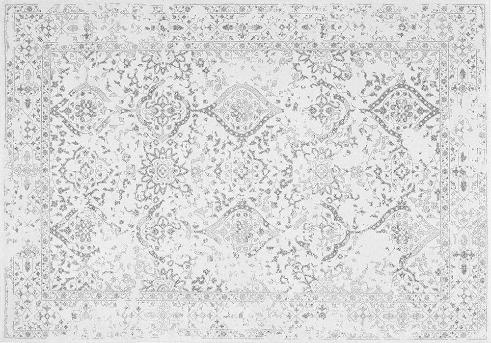 nuLOOM Oriental Vintage Floral Ornament Area Rug, Ivory | 152 x 226 cm £64.00