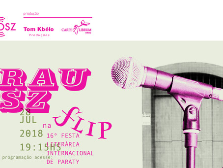 Sarau Vosz - na Flip 2018
