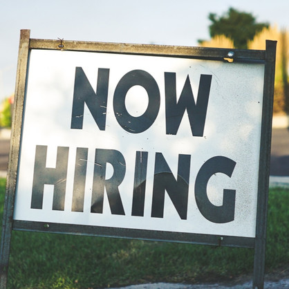 Need Work? Here are positions that are hiring right now!