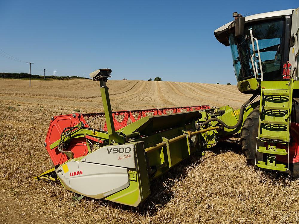 combine harvester hertfordshire