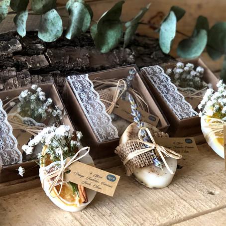 Düğün hediyesi olarak son yılların en çok tercih edileni Rustik Sabunlar!
